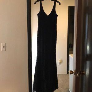 Full length BCBG Generation gown